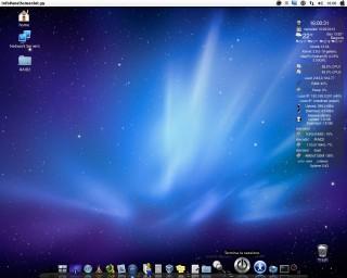 <strong>Linux Ubuntu con Mac Theme</strong>